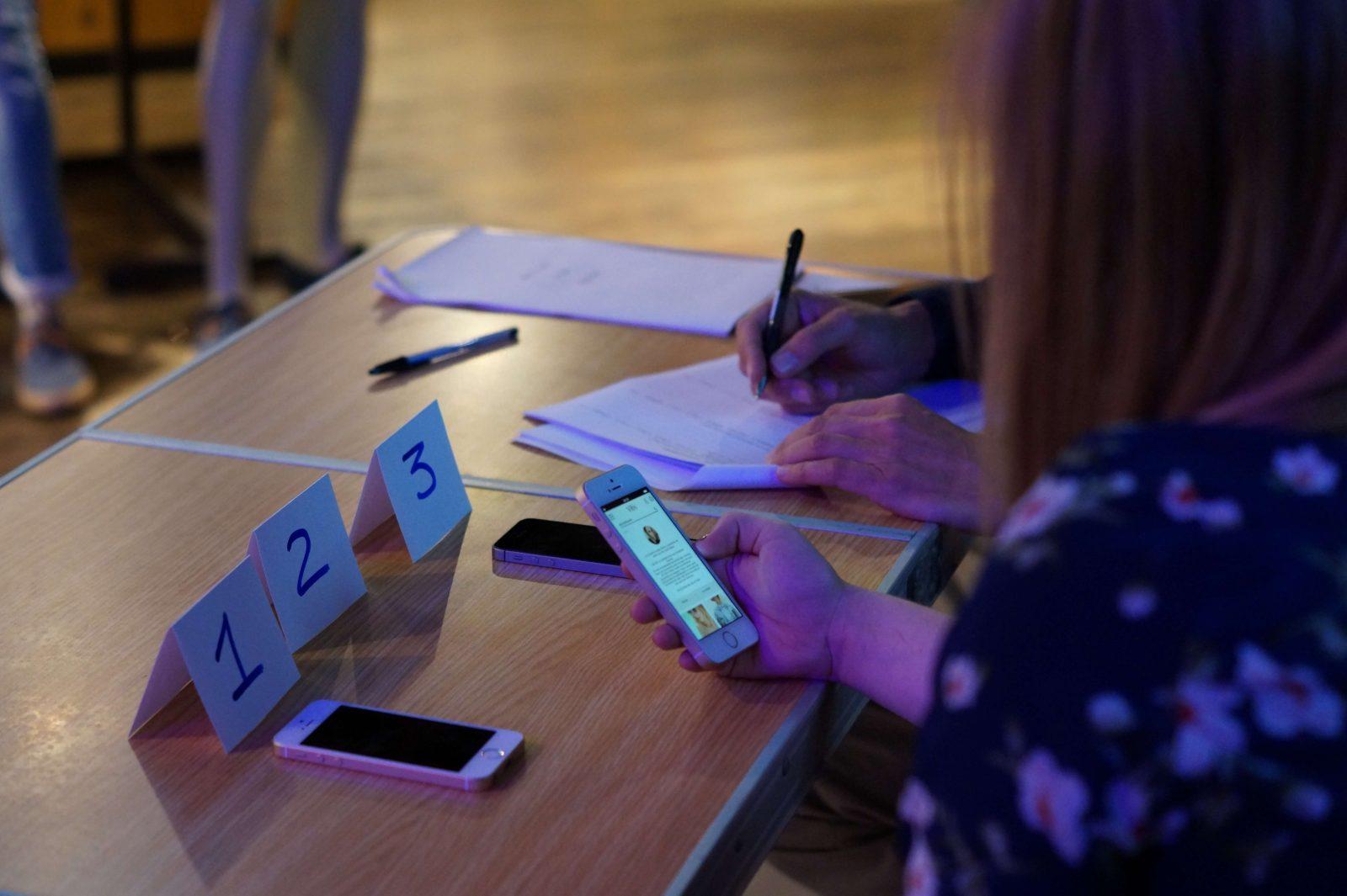 test utilisateur sur mobile par agence lunaweb
