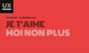 UX Rennes événement UX Deiz