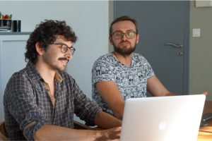 LunaWeb, Developpement Front-end : Co-conception