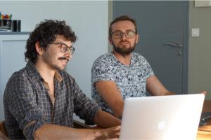LunaWeb, Developpement Front-end : Co-conception