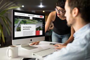 LunaWeb, Developpement Front-End : Marque-Bretagne