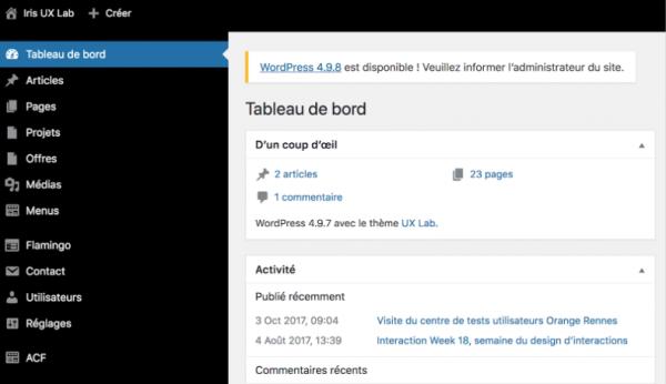 Stack Wordpress optimisée