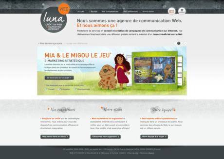 LunaWeb - Site internet version 4