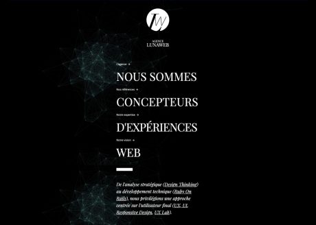 LunaWeb - Site internet version 5