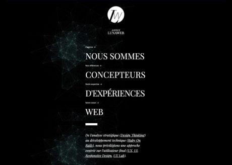 LunaWeb - Site internet version 5