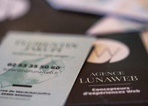 LunaWeb - Identité - Carte de visite