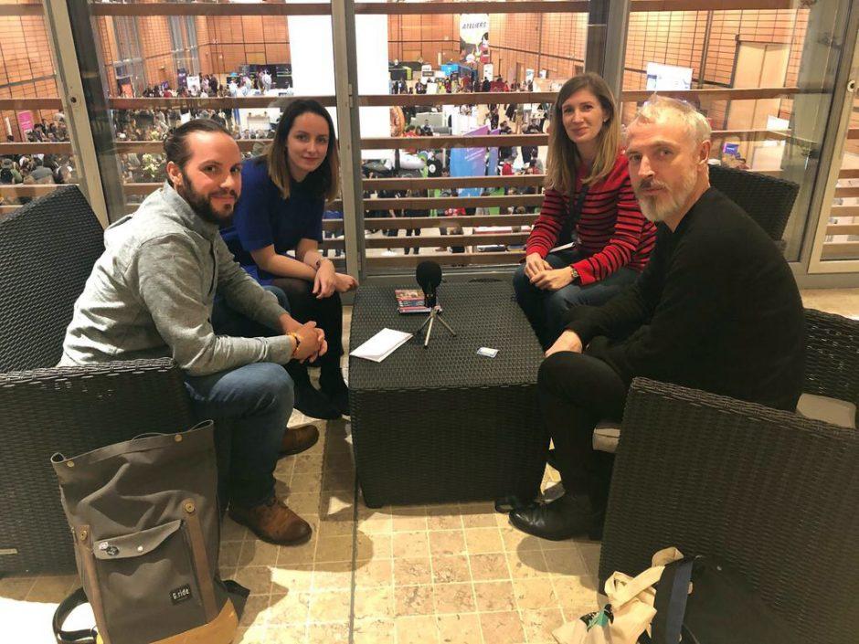 Podcast Salut Les Designers avec Nicolas et Marine Rouit-Leduc