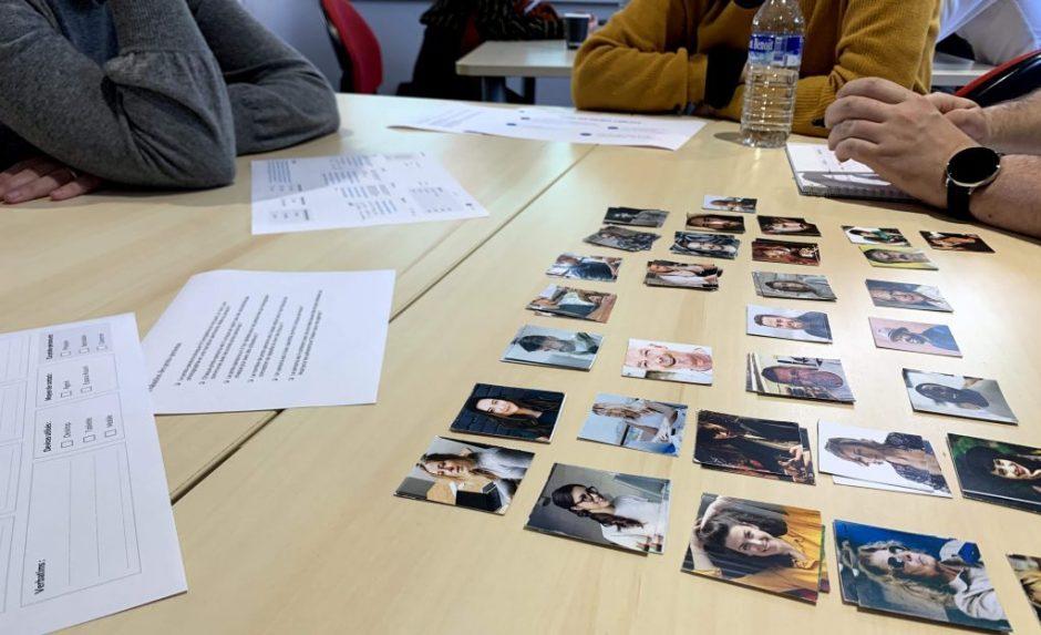 Réalisation personas Agence LunaWeb