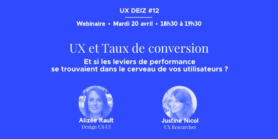 Webinaire levier UX _ conversion