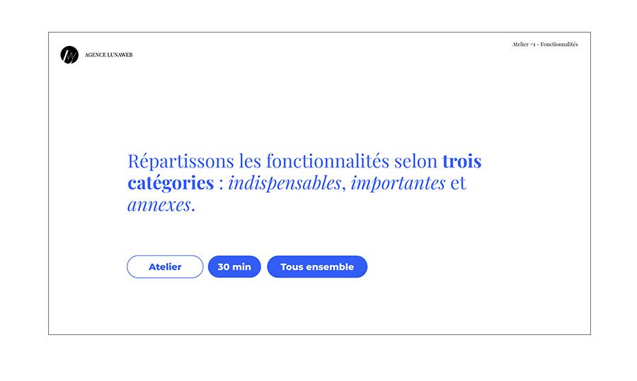 atelier fonctionnel choose me a feature classification