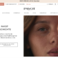 Page accueil eshop PAYOT