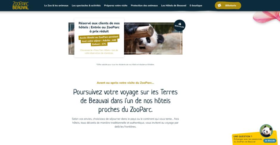Hôtels ZooParc Beauval