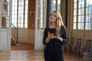 Luisa évoque son travail de cheffe de projet au sein de l'Agence.